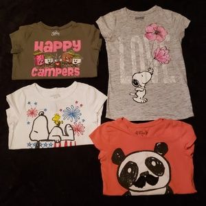 Other - Size 10 Lot of 4 Girl's Tee Shirts